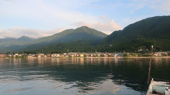 加藤先生レポ:琵琶湖のエリ漁を取材しました