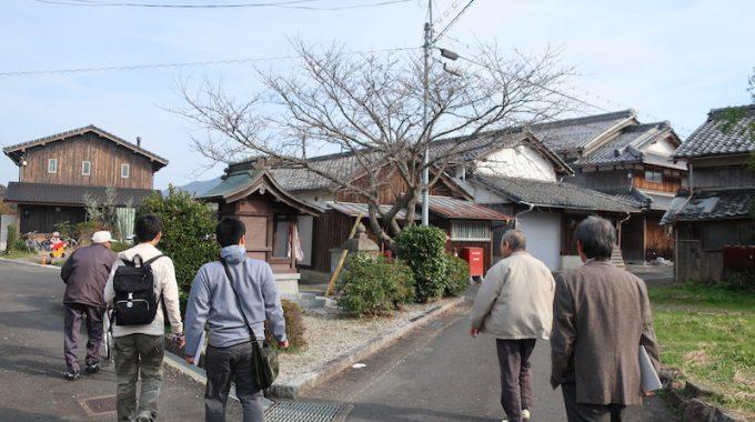 近江八幡市浅小井フィールドワーク!
