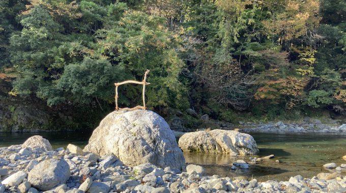 今年も、「地域の素材でつくる」1/旅する流木〜水とつながるものたち〜