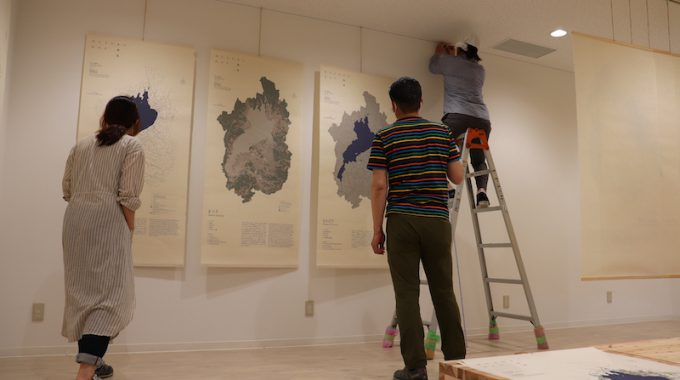 滋賀県立美術館の展覧会に参加しています